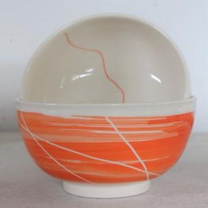 Dans la boîte noire - Virginie Deruelle - Céramique - Bol lignes
