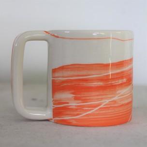 Dans la boîte noire - Virginie Deruelle - Céramique - Mug lignes