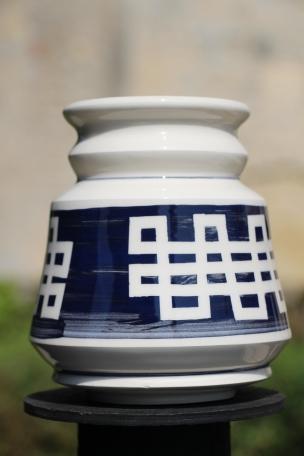 Dans la boîte noire - Virginie Deruelle - Céramique - Vase