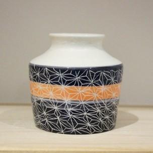 Dans la boîte noire - Virginie Deruelle - Céramique - petit vase