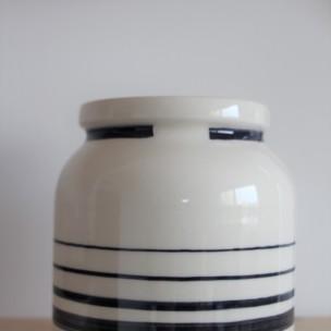 Dans la boîte noire - Virginie Deruelle - Céramique - Vases ligne recto