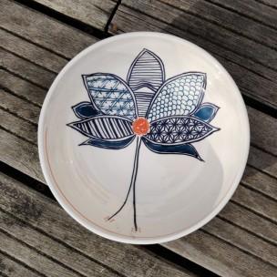 Dans la boîte noire - Virginie Deruelle - Céramique - bol fleur NG